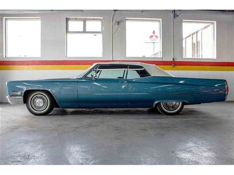 1968 Cadillac Coupe by 1968 Cadillac For Sale Classiccars Cc 821228