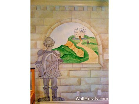 castle wall mural castle mural exles castle wall murals