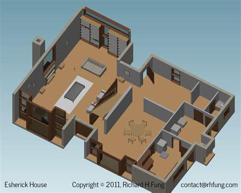 Office Floor Plan Software richard h fung esherick house