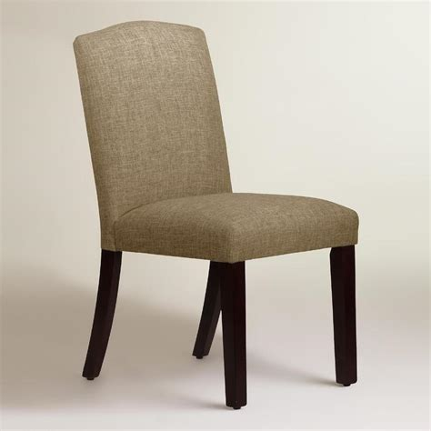 dining upholstered chairs linen blend rena upholstered dining chair