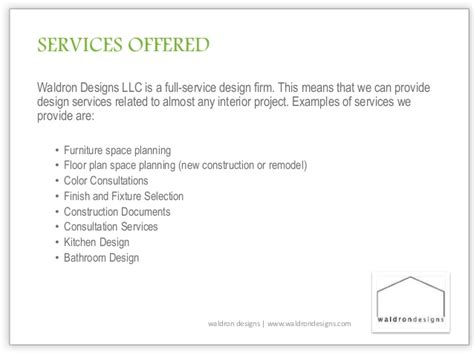 interior design service introduction to interior design services