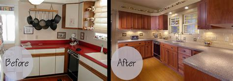 kitchen cabinet refinishing before and after techniques in creating refinished kitchen cabinets before