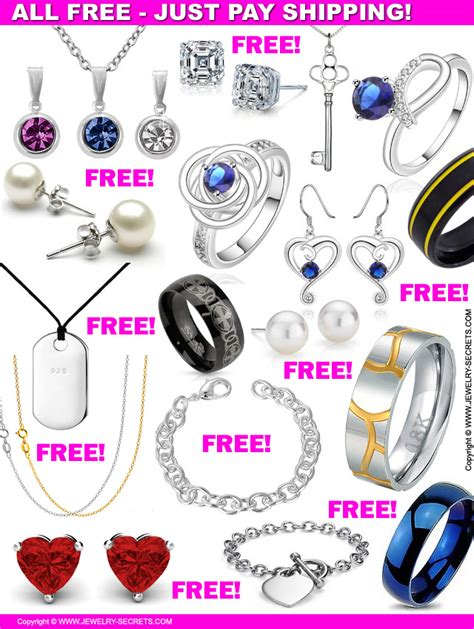 all free jewelry all free jewelry just pay shipping jewelry secrets