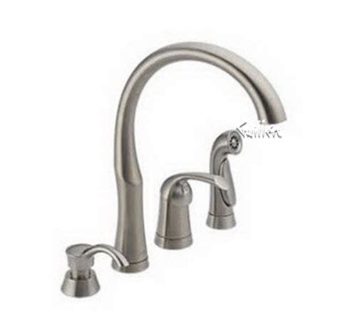 delta bellini kitchen faucet order replacement parts for delta 11946 single handle lever kitchen faucet with sidespray and