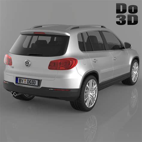 Volkswagen Suv Models by Volkswagen Tiguan 2013 Suv 3d Model Max Obj 3ds Fbx