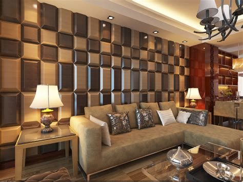 wall tiles for living room 3d leather tiles for living room wall designs modern