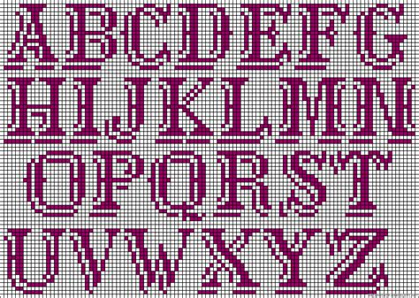 perler bead letters alphabet perler bead pattern diy crafting