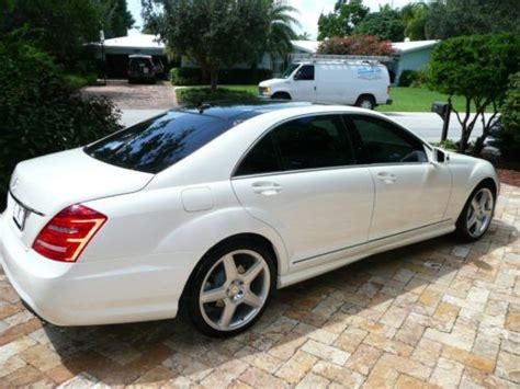 Mercedes S550 2011 by Sell Used 2011 Mercedes S550 Amg White