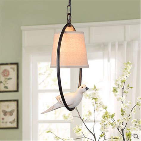 vintage bedroom lighting lustre genuine led pendant lights vintage bird bedroom
