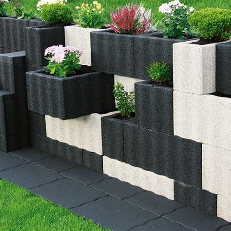 Gartengestaltung Pflanzsteine Setzen Wunderbare Ideen