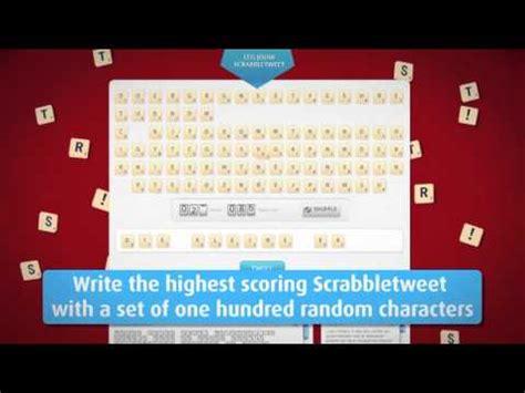 is una a scrabble word un scrabble de 100 caracteres para jugar en una