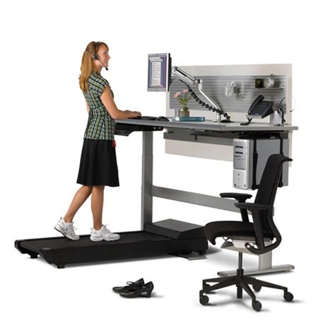 standing desk with treadmill sit to walkstation treadmill desk sit stand or walk
