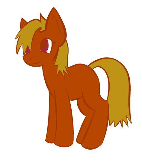 Generic Orange Pony By Gabriel11999 On Deviantart