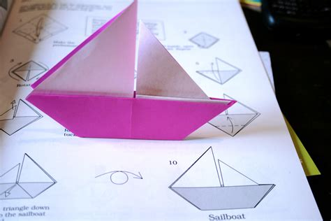 origami boat for origami boat flickr photo