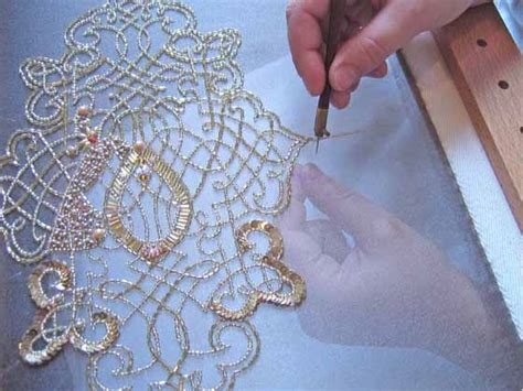 Tambour Beading Workshop At The Sewing Room