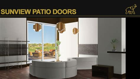 sunview patio doors sunview patio doors vision extrusions vision hollow