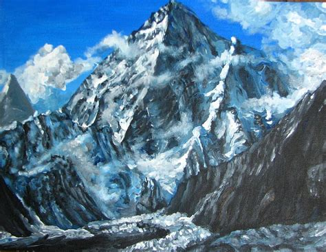 paint nite mountain view mountains painting acrylic www pixshark images