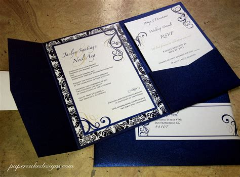 make a custom card diy print assemble wedding invitations papercake designs