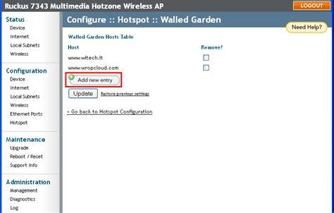 walled garden login walled garden for the social login web domains to