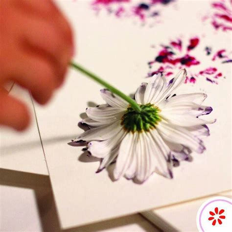 make flower painting creative for all ages with easy diy wall projects