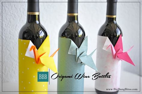 origami wine bottle hearty appetizers and