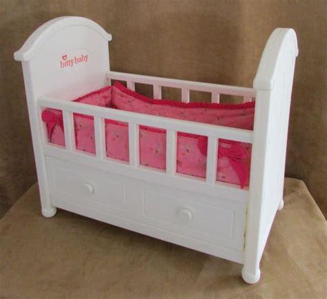 bitty baby crib bitty baby crib bedding great complete retired american