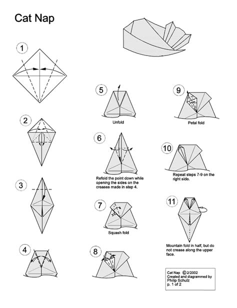 how to origami cat origami swami origami cats