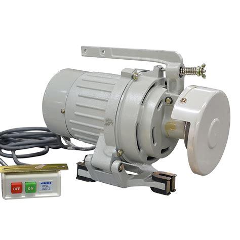 Electric Motor Clutch by 1 3 Hp 3450 Rpm 240 Volt Ac Juki Electric Sewing Machine