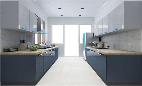parallel kitchen design casa bilancio cbp 104 parallel shape modular kitchen in