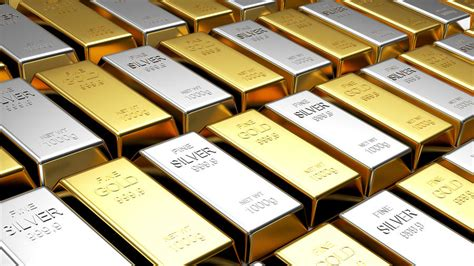 gold silver gold and silver bars finance economy admin 900 x 506