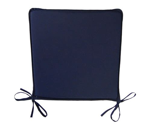 dining chair seat pads plain kitchen garden furniture