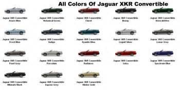 paint colors for jaguar jaguar paint codes jaguar xk car club xkcc a club not