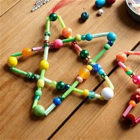 pipe cleaner bead ornaments crafts pipe cleaners