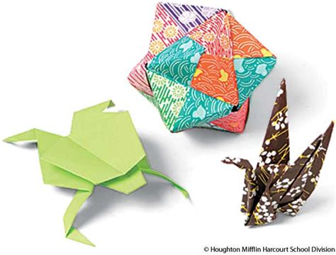 define origami american heritage dictionary entry origami