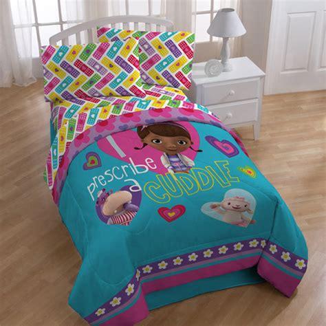doc mcstuffins bed set doc mcstuffins bedding comforter walmart
