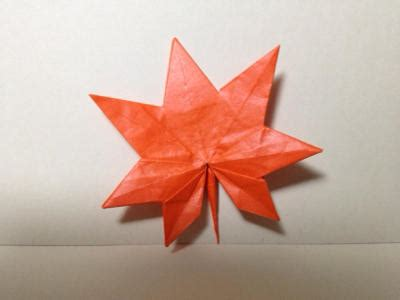 origami maple leaf origami maple leaf tokyoing