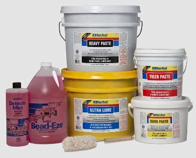 tire bead lube ken tool expands tire mounting lubricant line