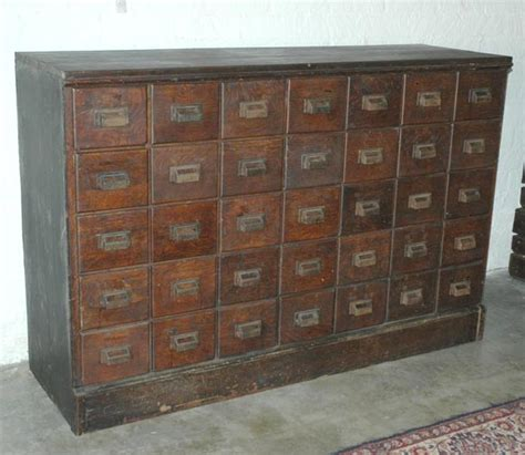 Ikea Metal Cabinet antique american apothecary chest at 1stdibs