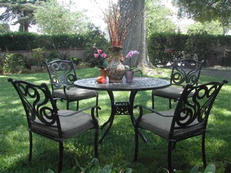 cast aluminum patio furniture reviews review outdoor cast aluminum patio furniture 5