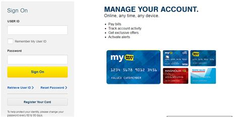 how to make best buy credit card payment best buy credit card login bill payment