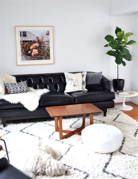 living room ideas with black leather sofa best 25 black leather couches ideas on living