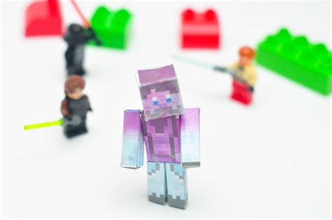 how do you craft paper in minecraft how to do minecraft papercraft 8 steps with pictures