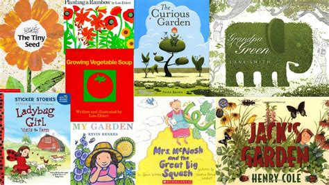 garden picture books green thumbs the stag