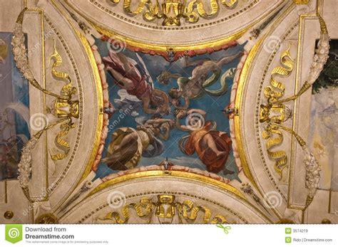 fresco italianos italian renaissance fresco stock image image of
