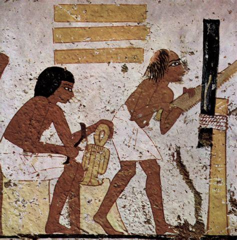 que woodwork file maler der grabkammer der bildhauer nebamun und ipuki