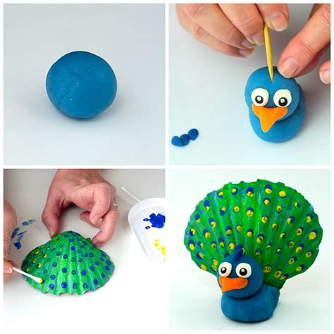 sea shell craft for adorable seashell craft ideas for crafty morning
