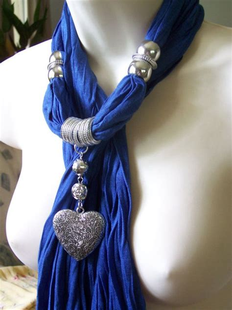 how to make scarf jewelry 25 best ideas about scarf necklace on scarf