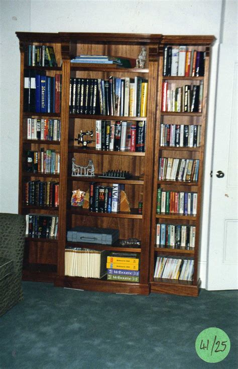 single bookshelves single bowfront bookshelves diy furniture plans