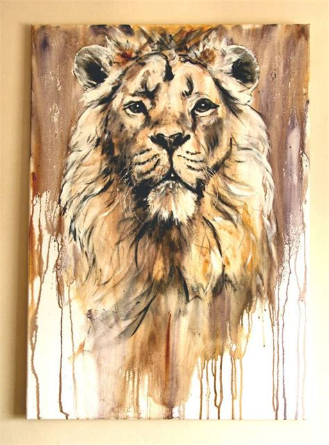 acrylic painting ideas animals 220 ber 1 000 ideen zu l 246 we malerei auf l 246 we