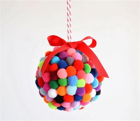 crafts with styrofoam balls for 21 diy styrofoam ornaments diy pom pom